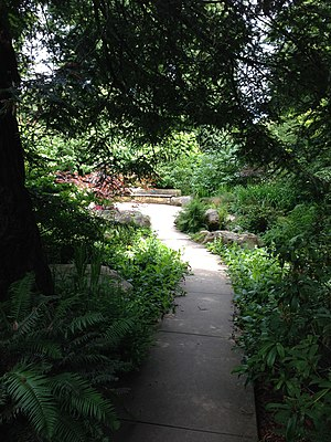 AIDS Memorial Grove - Path to the Circle of Friends