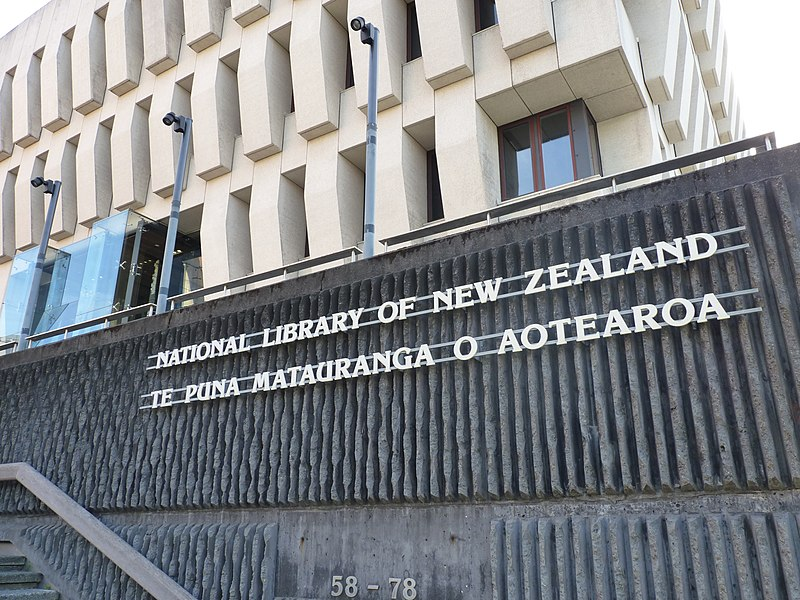 Aaron Coupe's favourite place, National Library of New Zealand. Wellington, New Zealand