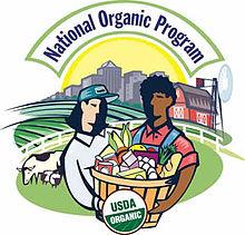 National organic standards list