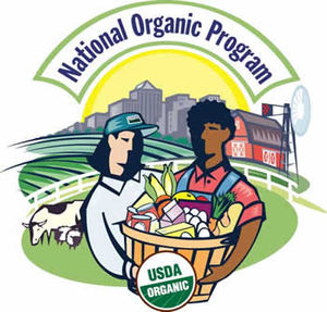 Sustainable products - The National Organic Program (run by the USDA) is responsible for the legal definition of organic in the United States and issue organic certification.