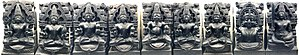 Navagraha - Image: Nava Graha Idols from Konark at British Museum