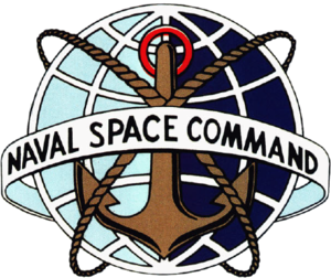 Naval Space Command - Image: Naval Space Command (US Navy) insignia 1983