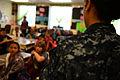 Navy Marine Corps Classic 2012 school visit 121105-N-AG285-001.jpg