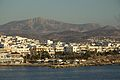 Naxos Town and Mt Zas from port before sunset, 130493.jpg