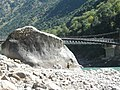 Neelum River with Big Stone.jpg