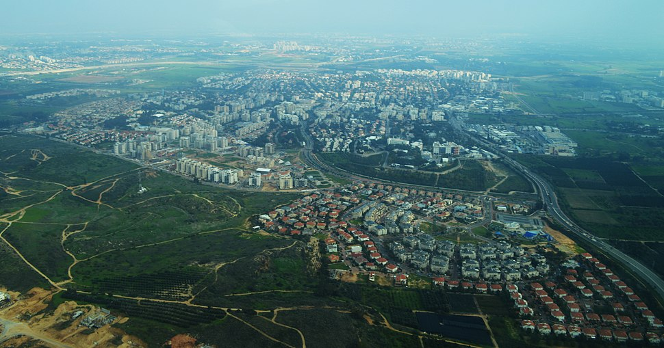 Ness Ziona Aerial View