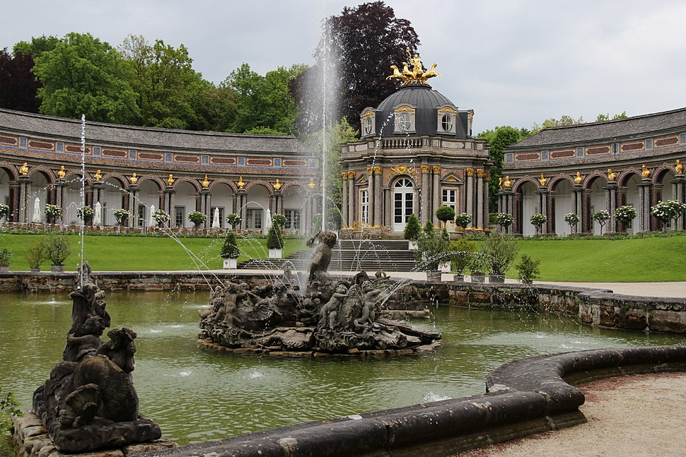Neues Schloss in der Eremitage. Bayreuth. IMG 2276