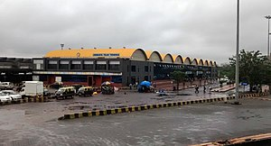 Lokmanya Tilak Terminus railway station - New terminal building at LTT