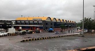 Lokmanya Tilak Terminus railway station - New terminal building at LTT