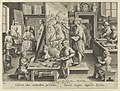 New Inventions of Modern Times -Nova Reperta-, The Invention of Oil Painting, plate 14 MET DP841119.jpg