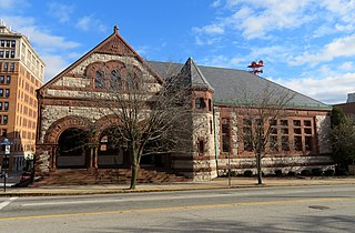 New London Public Library United States historic place