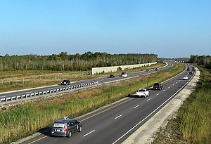 Ontario Highway 26 - The Highway 26 bypass between Collingwood and Wasaga Beach