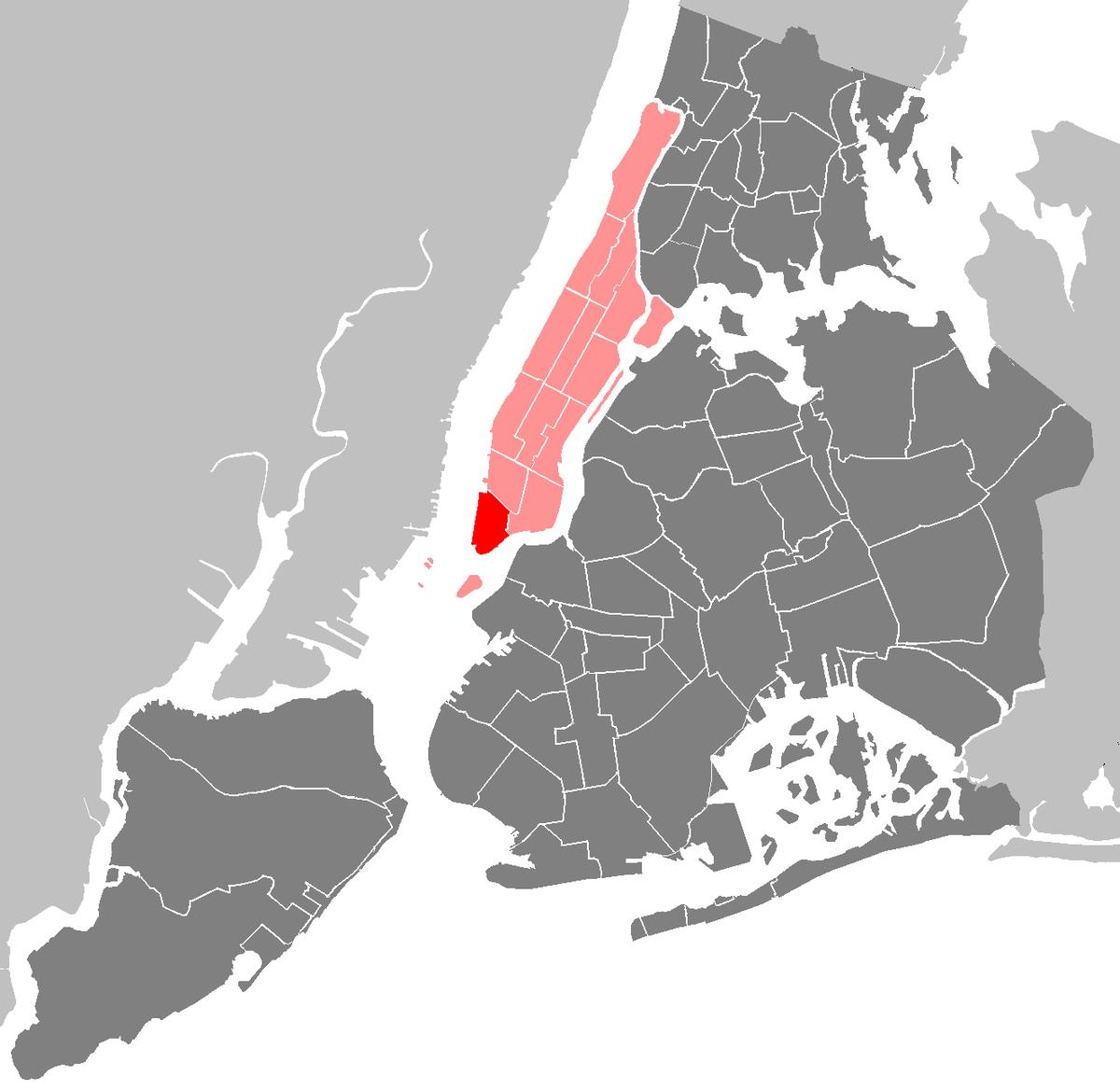 Manhattan New: Lower Manhattan