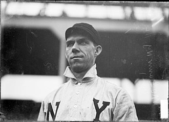 Dan McGann - Cap McGann with the New York Giants in 1905