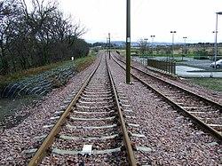 New tram line at Edinburgh Airport (geograph 3287938).jpg