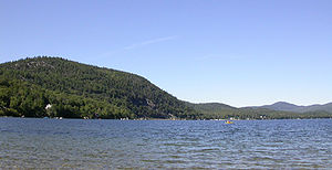 Newfound Lake - Newfound Lake from Wellington State Park, Bristol, NH