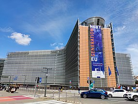 NextGenerationEU - StrongerTogether - Recovery plan for Europe - Plan de relance pour l'Europe - Heerstelplan voor Europe - Berlaymont.jpg