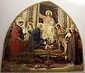 Niccolò barabino, cristo in trono tra maria e santi fiorentini, 1882-83, 01.JPG