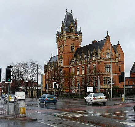 Ellen Wilkinson High School. Built 1880. Grade II* Nicholls Hospital - geograph.org.uk - 1221637.jpg