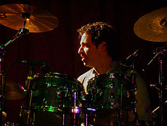 Nick D'Virgilio - D'Virgilio in concert with Spock's Beard at BB Kings, NYC, April 27, 2007.
