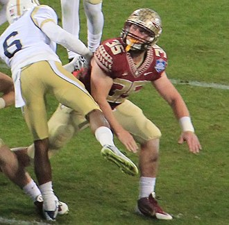 2014 Florida State Seminoles football team - Tight end Nick O'Leary