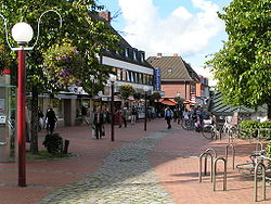 Niendorf market area (car free zone)