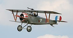 Nieuport 23 at Festival of History 07.jpg