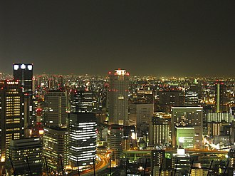 Night in Osaka(Umeda Sky Building-South).jpg