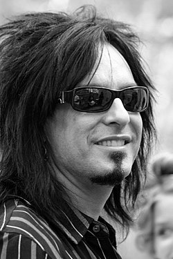 Nikki Sixx, September 2007. Photograph by Christopher Peterson.}