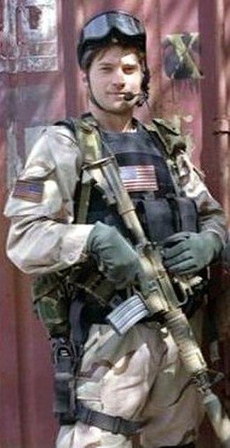 Gary Gordon - Nikolaj Coster-Waldau as Gary Gordon in the 2001 Film, Black Hawk Down