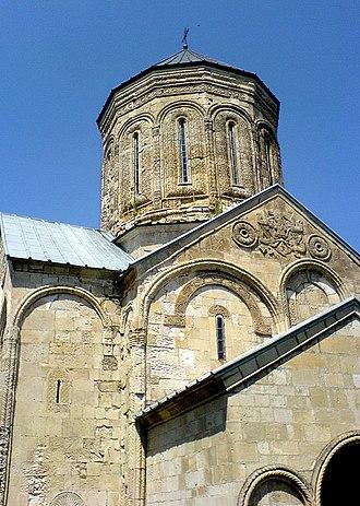 Nikortsminda Cathedral - Image: Nikortsminda 1