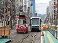 Nishi yon chome Tram stop 201509 01.JPG