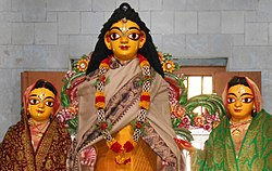 Nityananda Prabhu, Nabadwip Sribas Angon.jpg