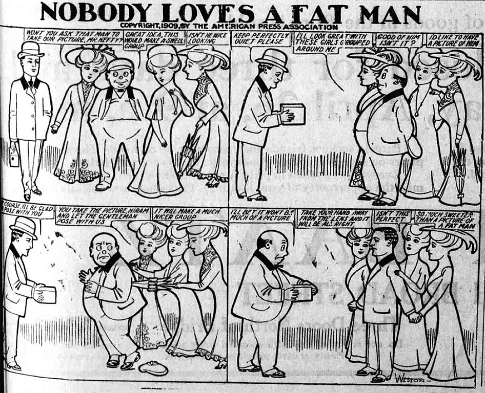 Nobody likes fat girls
