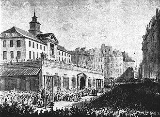 Warsaw Stock Exchange - Old Town Hall, place of securities trading before the establishing of the Mercantile Exchange in 1817. Destroyed in 1817.