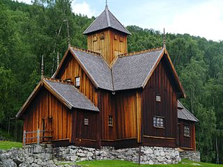 Uvdal Village and former municipality in Buskerud county, Norway