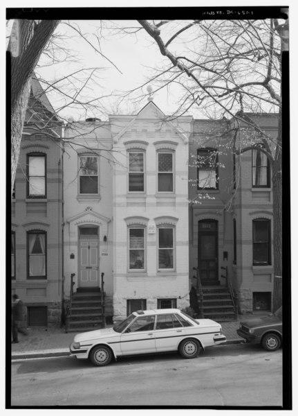 file north front facade 3320 prospect street. Black Bedroom Furniture Sets. Home Design Ideas