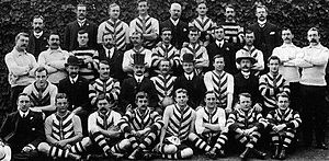 1905 SAFA season - 29th SAFA season North Adelaide premiership team.