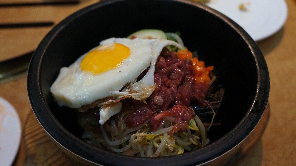 North Korean Bibimbap 비빔밥 (12330376074)
