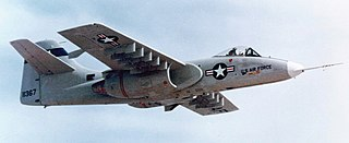 Northrop YA-9 Prototype attack aircraft developed for the US Air Force A-X program
