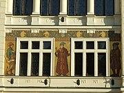 Nová radnice (New townhall), Náchod - details 02.JPG
