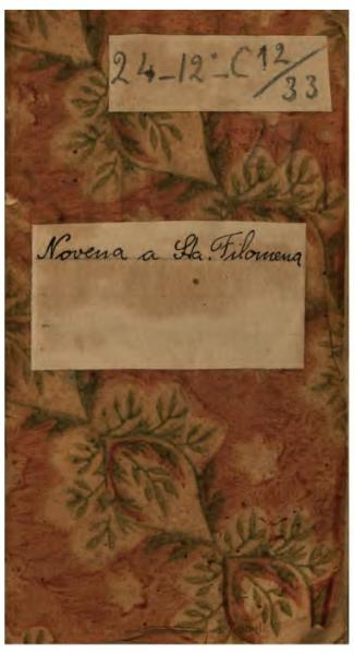 File:Novena a Santa Filomena (1836).djvu
