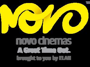 Novo Cinemas - Image: Novo Cinemas logo on black