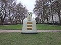 Nuestros Silencios sculpture in Victoria Tower Gardens - geograph.org.uk - 2234982.jpg