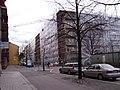 Nybyggnation vid korsningen Gamla Rådstugugatan och Nya Rådstugugatan i Norrköping, den 5 april 2007, bild 1.JPG