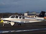 OO-VDC Beech Bonanza G36 (Private Owner) (46812749102).jpg