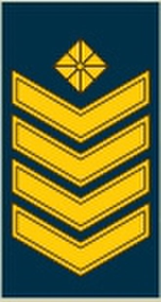 Lithuanian military ranks and insignia - Image: OR 8 viršila