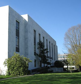 Hoffman Construction Company - Oregon State Library in Salem