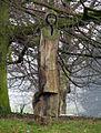 Oak figures, Malone Road roundabout (2) - geograph.org.uk - 697509.jpg
