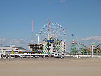 Ocean City, Maryland - Ocean City's inlet during the offseason